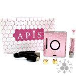 Apis Vaporizer Kit Pink on display